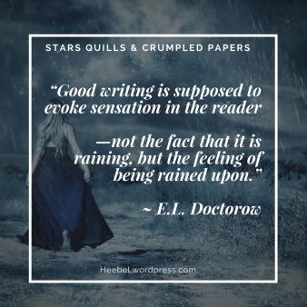 Good Writing Evokes Sensation in the Reader