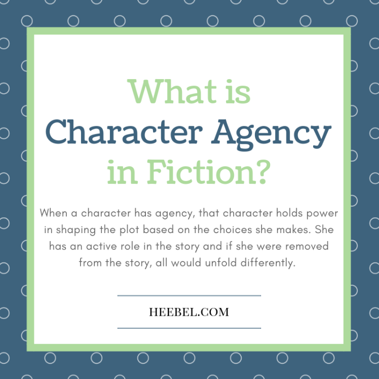 What is Character Agency in Fiction