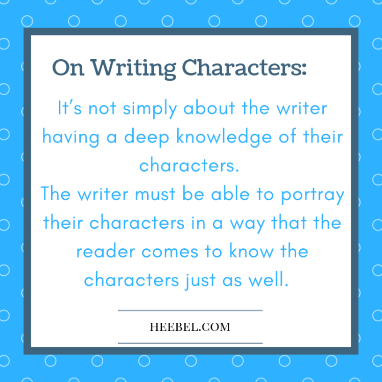 On Writing Strong Characters